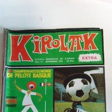 Coleccionismo deportivo: REVISTA KIROLAK NUMERO 79 SEPTIEMBRE 1978 FUTBOL REAL SOCIEDAD ATHLETIC BILBAO ALAVES OSASUNA. Lote 195280886