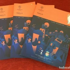Coleccionismo deportivo: REVISTA PROGRAMA OFICIAL UEFA CHAMPIONS LEAGUE MADRID 2019 LIVERPOOL TOTTENHAM. Lote 195343416