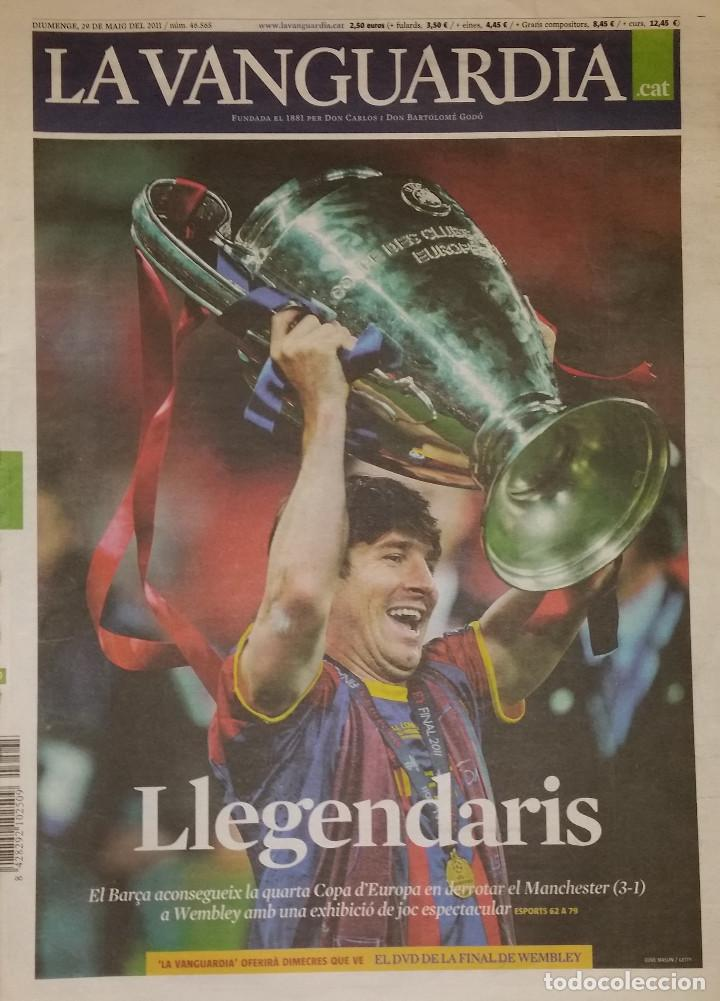 LA VANGUARDIA - LLEGENDARIS (Coleccionismo Deportivo - Revistas y Periódicos - otros Fútbol)