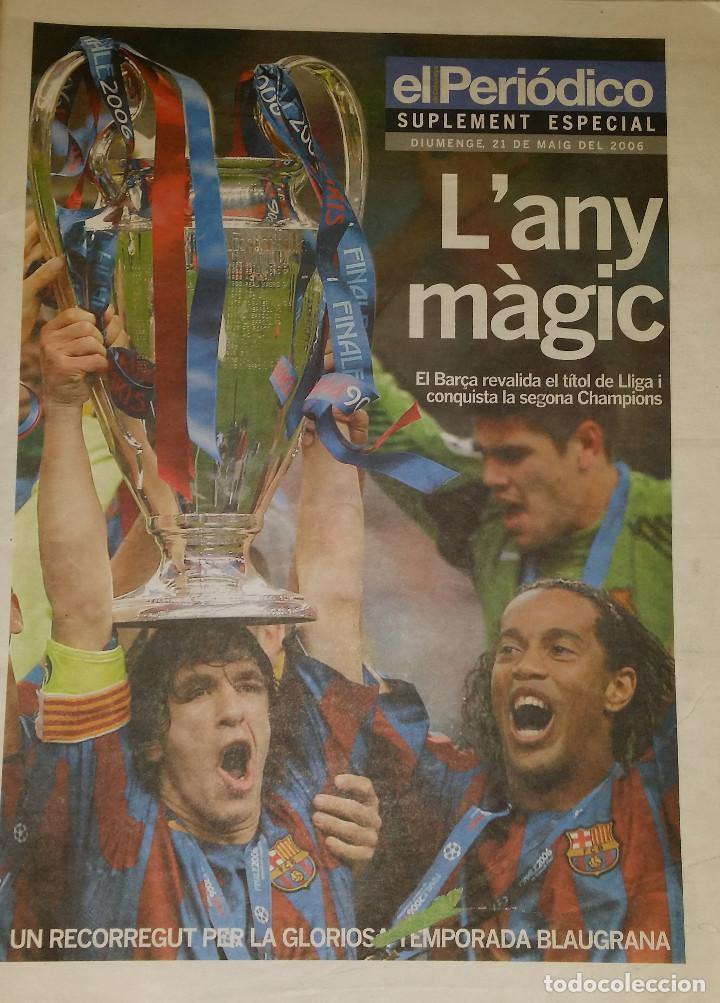 FINAL CHAMPIONS 2006 - FC BARCELONA & ARSENAL (Coleccionismo Deportivo - Revistas y Periódicos - otros Fútbol)