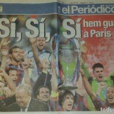 Coleccionismo deportivo: FINAL CHAMPIONS 2006 - FC BARCELONA & ARSENAL. Lote 195362228