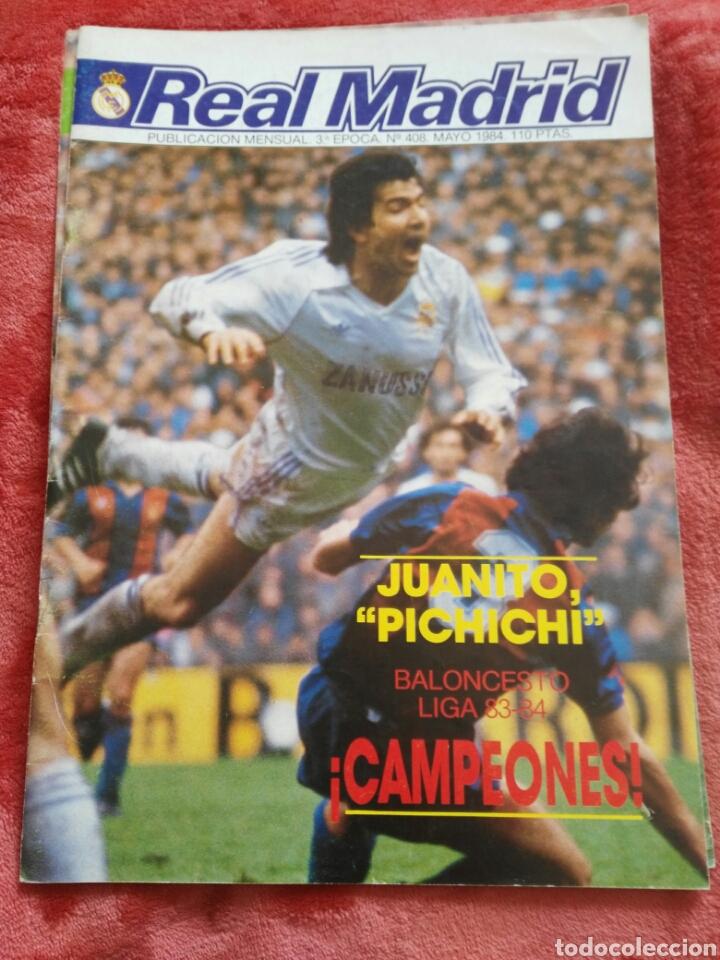 BOLETIN INFORMATIVO REAL MADRID (Coleccionismo Deportivo - Revistas y Periódicos - otros Fútbol)