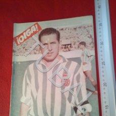 Coleccionismo deportivo: TUBAL OIGA 139 REVISTA FUTBOL 1957 BETIS SEVILLA F C U21. Lote 195490381
