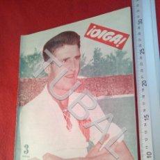 Coleccionismo deportivo: TUBAL OIGA 138 REVISTA FUTBOL 1956 BETIS SEVILLA F C U21. Lote 195490496