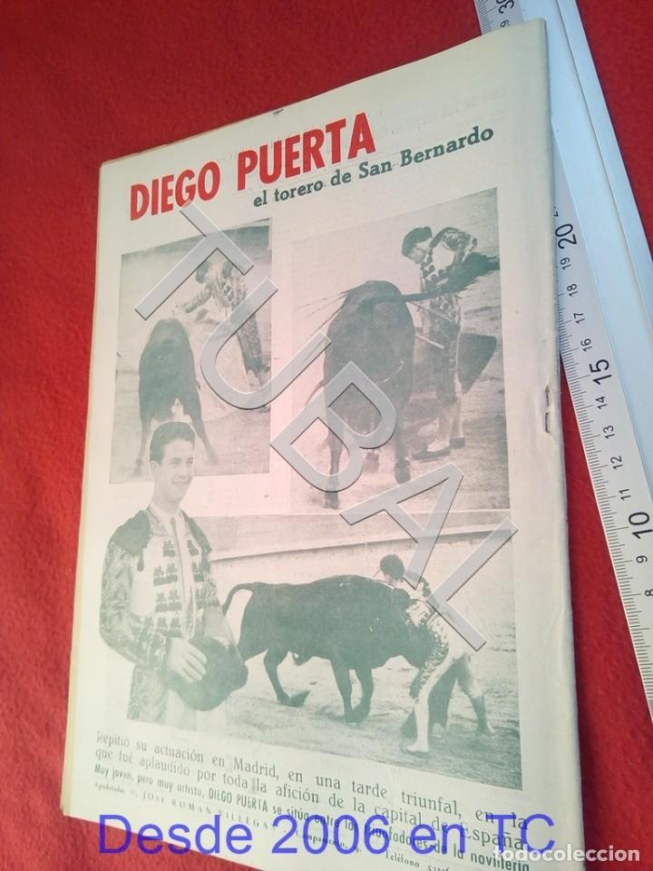 Coleccionismo deportivo: TUBAL OIGA 138 REVISTA FUTBOL 1956 BETIS SEVILLA F C U21 - Foto 2 - 195490496