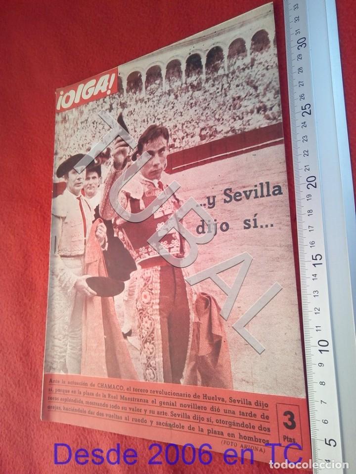 TUBAL OIGA 132 REVISTA TAUROMAQUIA FUTBOL 1956 BETIS SEVILLA F C U21 (Coleccionismo Deportivo - Revistas y Periódicos - otros Fútbol)