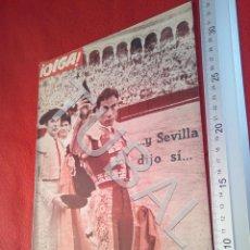 Coleccionismo deportivo: TUBAL OIGA 132 REVISTA TAUROMAQUIA FUTBOL 1956 BETIS SEVILLA F C U21. Lote 195490762