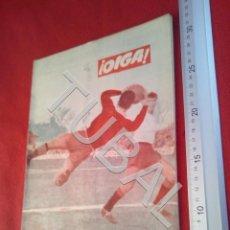 Coleccionismo deportivo: TUBAL OIGA 105 REVISTA FUTBOL 1956 BETIS SEVILLA F C U21. Lote 195491338