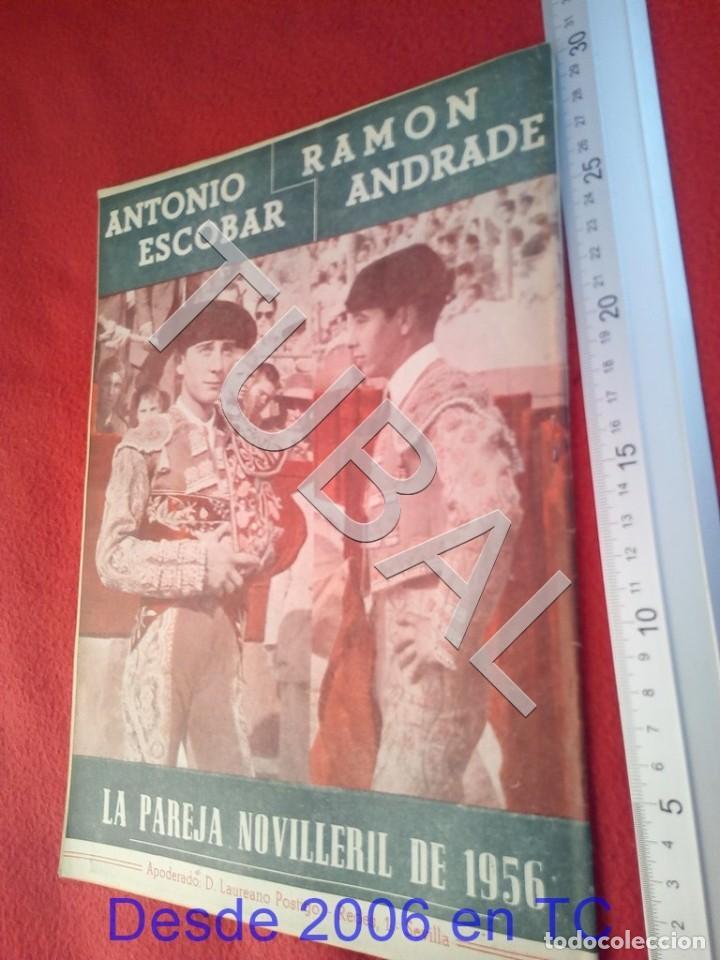Coleccionismo deportivo: TUBAL OIGA 97 REVISTA FUTBOL 1956 BETIS SEVILLA F C PAQUITA RICO U21 - Foto 2 - 195491797