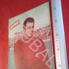 Collectionnisme sportif: TUBAL OIGA 98 REVISTA FUTBOL 1956 BETIS SEVILLA F C TAUROMAQUIA U21. Lote 195492151