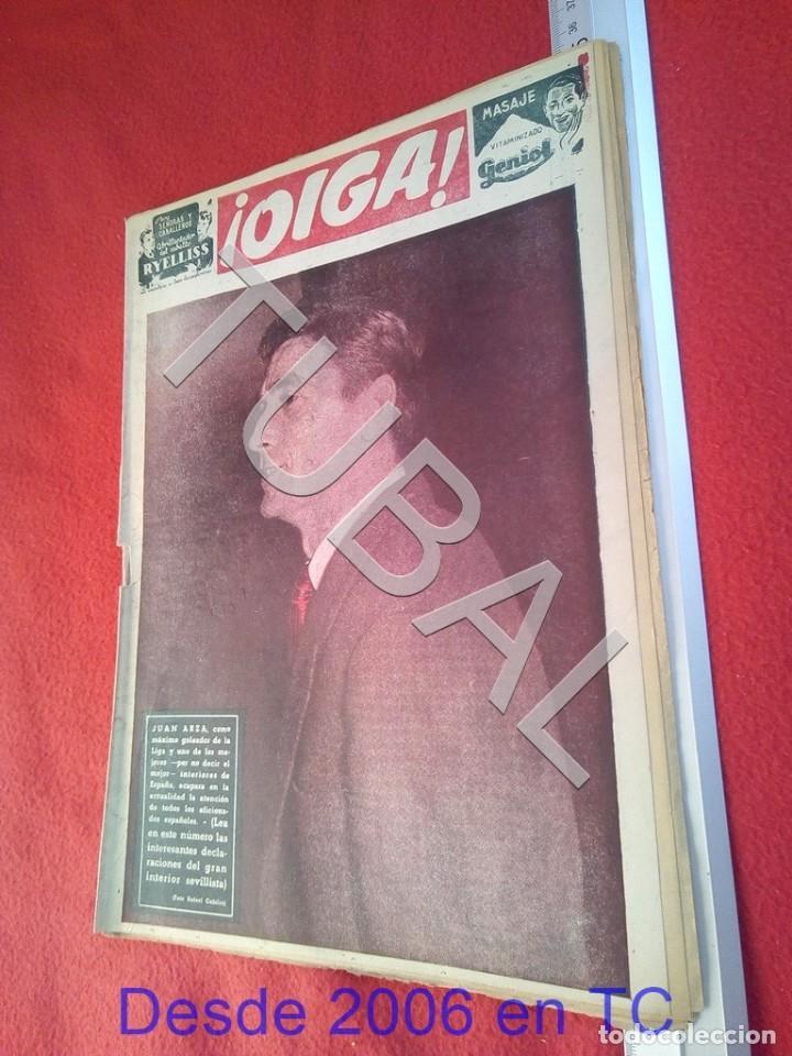 TUBAL OIGA 64 REVISTA FUTBOL 1955 BETIS SEVILLA F C TAUROMAQUIA U21 (Coleccionismo Deportivo - Revistas y Periódicos - otros Fútbol)