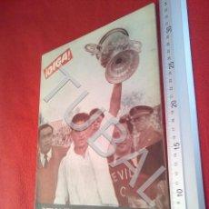 Coleccionismo deportivo: TUBAL OIGA 91 REVISTA FUTBOL 1955 BETIS SEVILLA F C TAUROMAQUIA U21. Lote 195492563