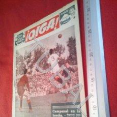 Coleccionismo deportivo: TUBAL OIGA 78 REVISTA FUTBOL 1955 BETIS SEVILLA F C U21. Lote 195493015