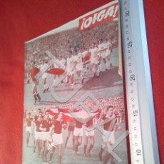Coleccionismo deportivo: TUBAL OIGA 153 REVISTA FUTBOL 1957 BETIS SEVILLA F C U21. Lote 195493277