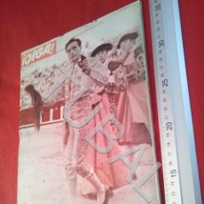 Coleccionismo deportivo: TUBAL OIGA 154 REVISTA FUTBOL 1957 BETIS SEVILLA F C U21. Lote 195493473