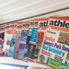 Coleccionismo deportivo: ATHLETIC CLUB DE BILBAO ÓRGANO OFICIAL LOTE DE 11 NÚMEROS 31-32-101-102-104-107-110-114-117-131-138. Lote 195641332