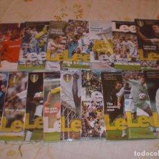 Coleccionismo deportivo: COLECCIÓN PROGRAMAS DEL LEEDS UNITED (INGLATERRA (1978/79 A 2007/08) (MÁS DE 900). Lote 196595408