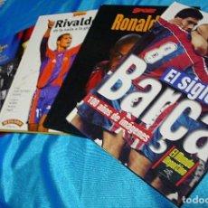 Coleccionismo deportivo: BARÇA, LOTE DE 4 LIBROS TAPA DURA - MUY BUEN ESTADO-LEER TODO Y VER FOTOS. Lote 196663291