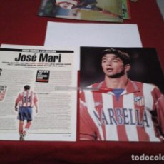 Coleccionismo deportivo: POSTER ATLETICO DE MADRID ( JOSE MARI + ENTREVISTA ) CELTA DE VIGO 1998. Lote 197059791