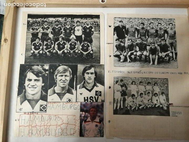 Coleccionismo deportivo: ANTIGUAS FOTOS DE REVISTAS Y PERIÓDICOS DE FÚTBOL. - Foto 2 - 197136936