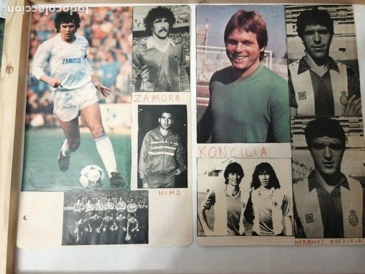 Coleccionismo deportivo: ANTIGUAS FOTOS DE REVISTAS Y PERIÓDICOS DE FÚTBOL. - Foto 3 - 197136936