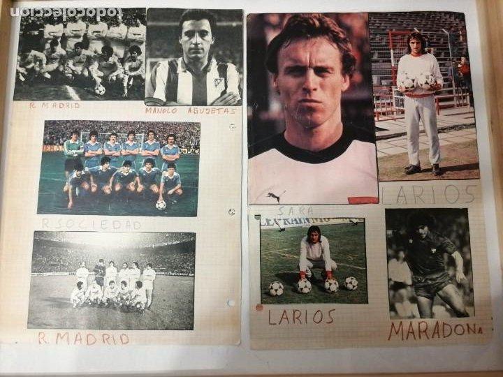Coleccionismo deportivo: ANTIGUAS FOTOS DE REVISTAS Y PERIÓDICOS DE FÚTBOL. - Foto 4 - 197136936