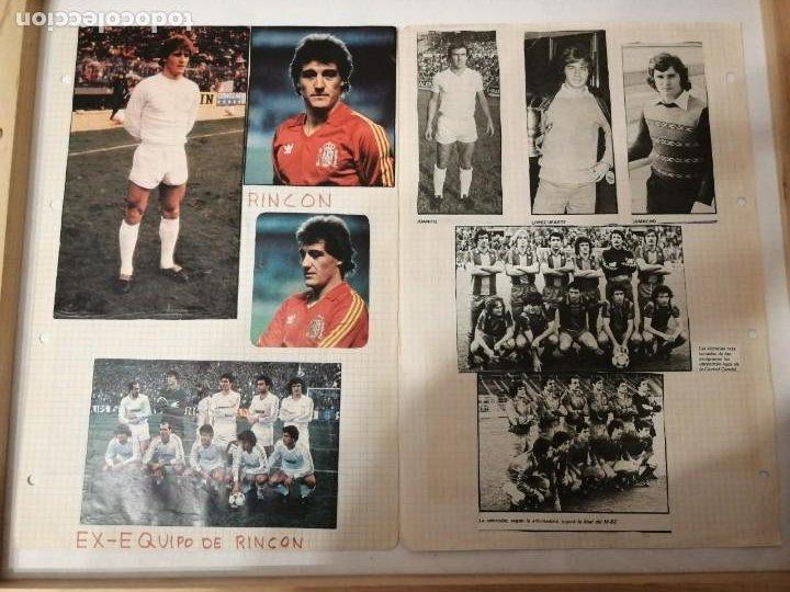 Coleccionismo deportivo: ANTIGUAS FOTOS DE REVISTAS Y PERIÓDICOS DE FÚTBOL. - Foto 5 - 197136936