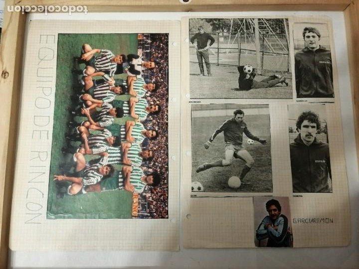 Coleccionismo deportivo: ANTIGUAS FOTOS DE REVISTAS Y PERIÓDICOS DE FÚTBOL. - Foto 6 - 197136936