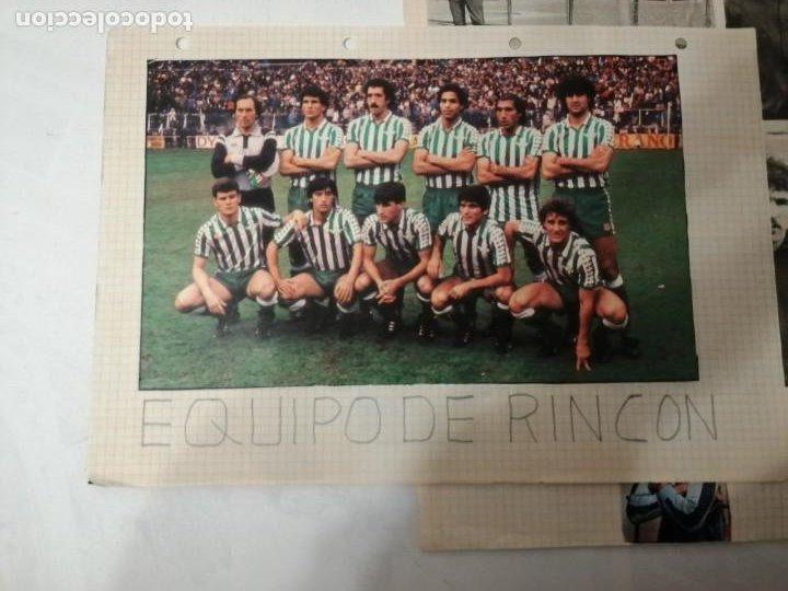 Coleccionismo deportivo: ANTIGUAS FOTOS DE REVISTAS Y PERIÓDICOS DE FÚTBOL. - Foto 7 - 197136936