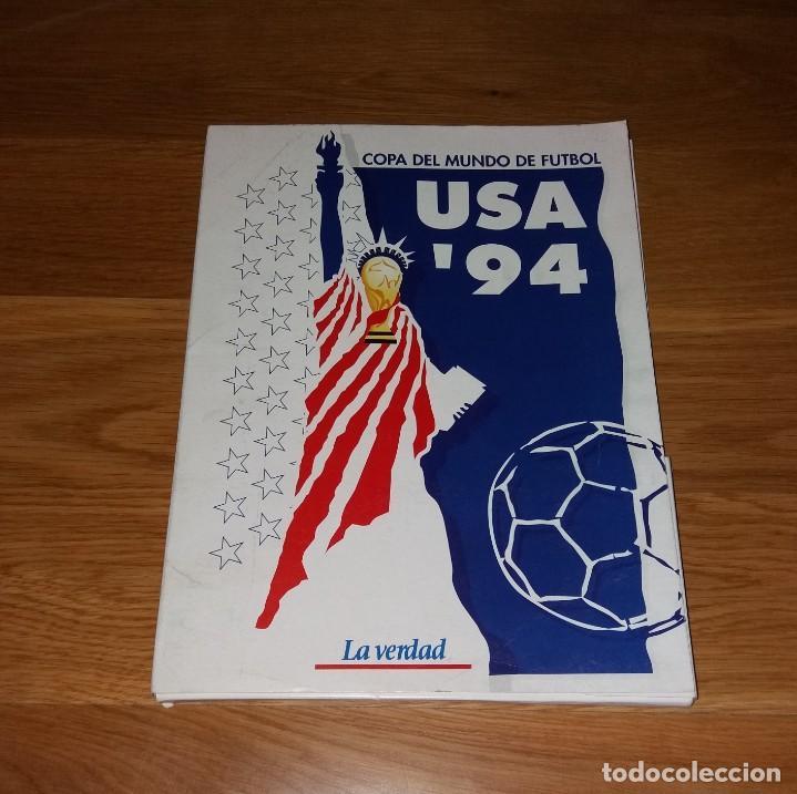 COLECCIONABLE. MUNDIAL USA 1994 94. LA VERDAD. COMPLETO (CON PÓSTER) (Coleccionismo Deportivo - Revistas y Periódicos - otros Fútbol)
