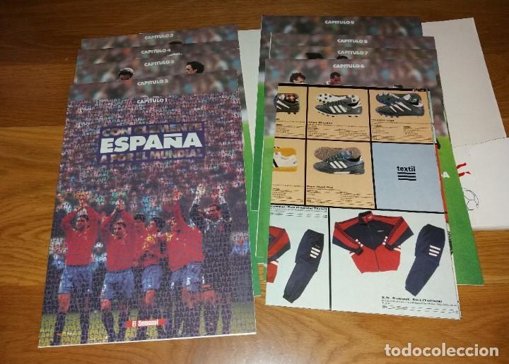 Coleccionismo deportivo: Coleccionable. Mundial Usa 1994 94. La verdad. Completo (con póster) - Foto 2 - 197246146