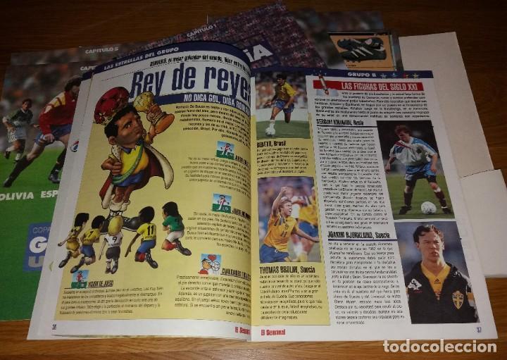 Coleccionismo deportivo: Coleccionable. Mundial Usa 1994 94. La verdad. Completo (con póster) - Foto 3 - 197246146