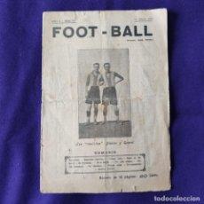Coleccionismo deportivo: REVISTA FOOT-BALL. NUM 219. 10 DE JULIO DE 1919.. Lote 197441675