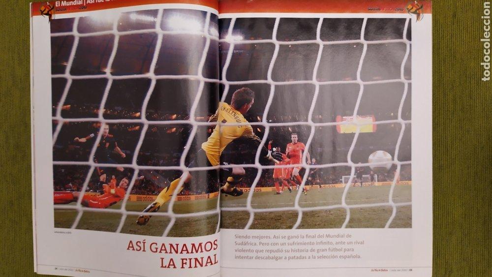 Coleccionismo deportivo: REVISTA ESPECIAL LA VOZ DE GALICIA. ESPAÑA CAMPEONA DEL MUNDO 2010. NUEVA 122 PÁGINAS - Foto 3 - 197775707