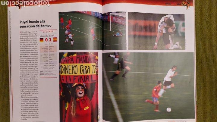 Coleccionismo deportivo: REVISTA ESPECIAL LA VOZ DE GALICIA. ESPAÑA CAMPEONA DEL MUNDO 2010. NUEVA 122 PÁGINAS - Foto 8 - 197775707