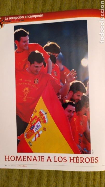 Coleccionismo deportivo: REVISTA ESPECIAL LA VOZ DE GALICIA. ESPAÑA CAMPEONA DEL MUNDO 2010. NUEVA 122 PÁGINAS - Foto 9 - 197775707