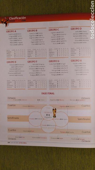 Coleccionismo deportivo: REVISTA ESPECIAL LA VOZ DE GALICIA. ESPAÑA CAMPEONA DEL MUNDO 2010. NUEVA 122 PÁGINAS - Foto 10 - 197775707