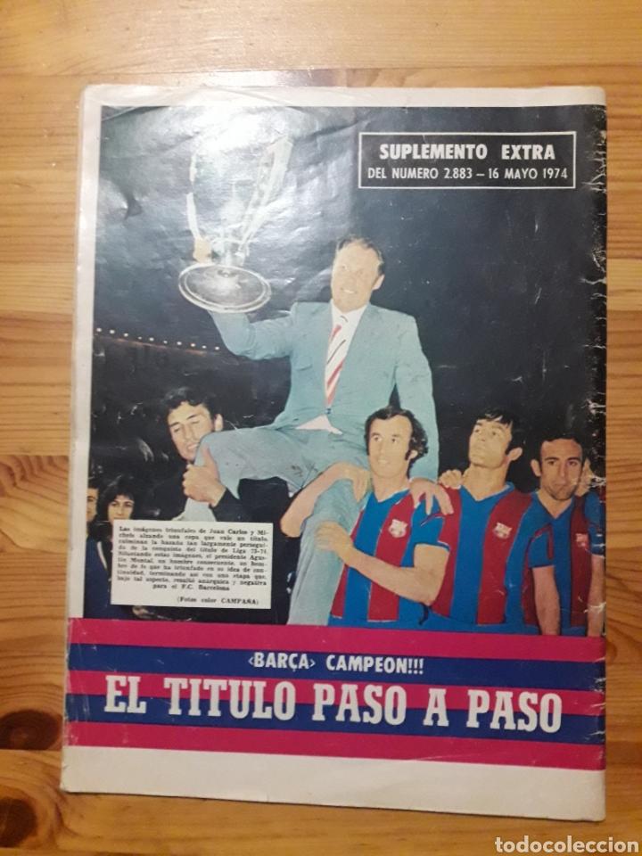 Coleccionismo deportivo: Dicen Liga Barça 1973 1974 Futbol Club Barcelona - Foto 3 - 198470347