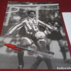 Collectionnisme sportif: POSTER HOJA REVISTA ( JUANELE - JUAN CASTAÑO QUIRÓS, CONOCIDO COMO JUANELE ) SPORTING DE GIJON. Lote 198663773