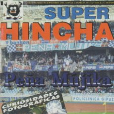 Collectionnisme sportif: REVISTA SUPER HINCHA 82 SEPTIEMBRE 2000 ULTRAS HOOLIGANS. Lote 278413578