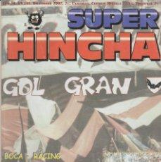 Collectionnisme sportif: REVISTA SUPER HINCHA 109 DICIEMBRE 2002 ULTRAS HOOLIGANS. Lote 240417900