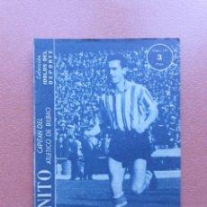 Coleccionismo deportivo: ANTIGUA REVISTA COLECCION IDOLOS DEL DEPORTE - Nº 101 - CANITO - AÑOS 50. Lote 199223973