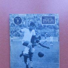Coleccionismo deportivo: ANTIGUA REVISTA COLECCION IDOLOS DEL DEPORTE - Nº 102 - MENDONÇA - AÑOS 50. Lote 199224023