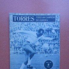 Coleccionismo deportivo: ANTIGUA REVISTA COLECCION IDOLOS DEL DEPORTE - Nº 108 - TORRES - AÑOS 50. Lote 199224341
