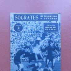 Coleccionismo deportivo: ANTIGUA REVISTA COLECCION IDOLOS DEL DEPORTE - Nº 109 - SOCRATES - AÑOS 50. Lote 199224423