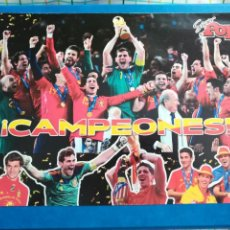 Coleccionismo deportivo: PÓSTER EQUIPO ESPAÑA. Lote 199295088