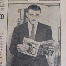 Coleccionismo deportivo: ALFREDO DI STEFANO VUELVE A RIVER. REVISTA RIVER PLATE NÚMERO 116 DE 28 NOVIEMBRE 1946. Lote 199297478
