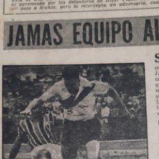 Coleccionismo deportivo: ALFREDO DI STEFANO. REVISTA RIVER PLATE NÚMERO 120 DE 26 DICIEMBRE DE 1946. Lote 199298477