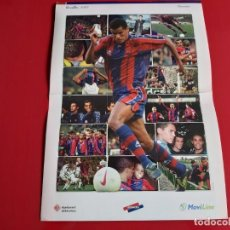 Coleccionismo deportivo: POSTER RIVALDO CARTON COLECCION CENTENARIO LA VANGUARDIA AÑO 1998. Lote 199308627