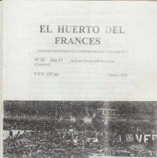 Coleccionismo deportivo: FANZINE JUVENTUDES VERDIBLANCAS MARZO 1998 RACING SANTANDER ULTRAS HOOLIGANS. Lote 245881575